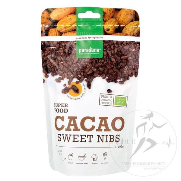 Bilde av Purasana - Cacao Sweet Nibs 200g