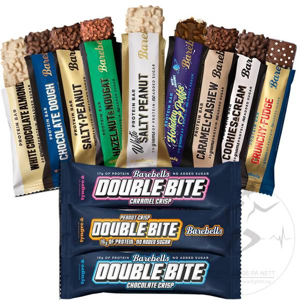 Bilde av Barebells - Double Bite Caramel Crisp 55g