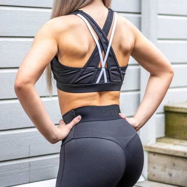 Bilde av BARA Sportswear - Black Swift Sportsbra