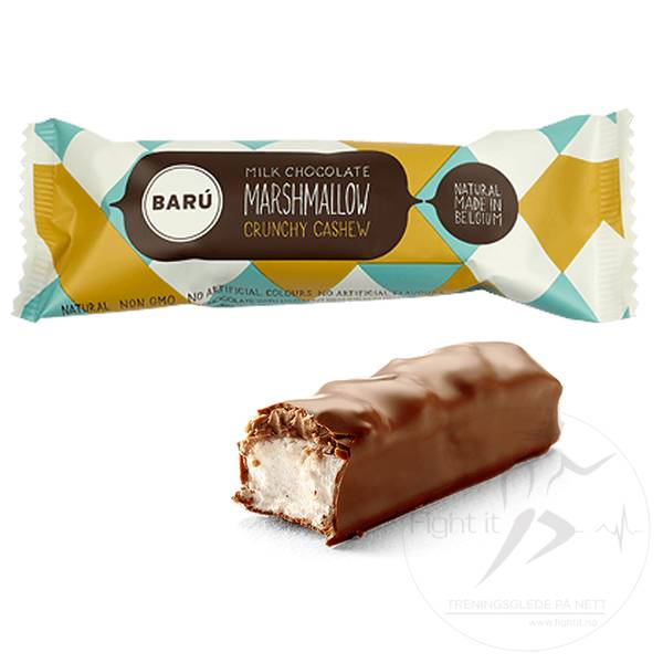 Bilde av Baru - Marshmallow Bar Milk Chocolate & Crunchy Cashew 30g