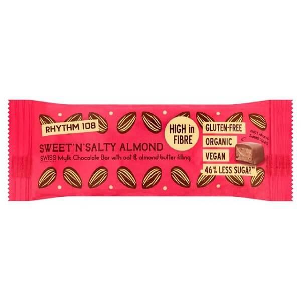 Bilde av Rhythm 108 - Sweet`n Salty Almond 33g