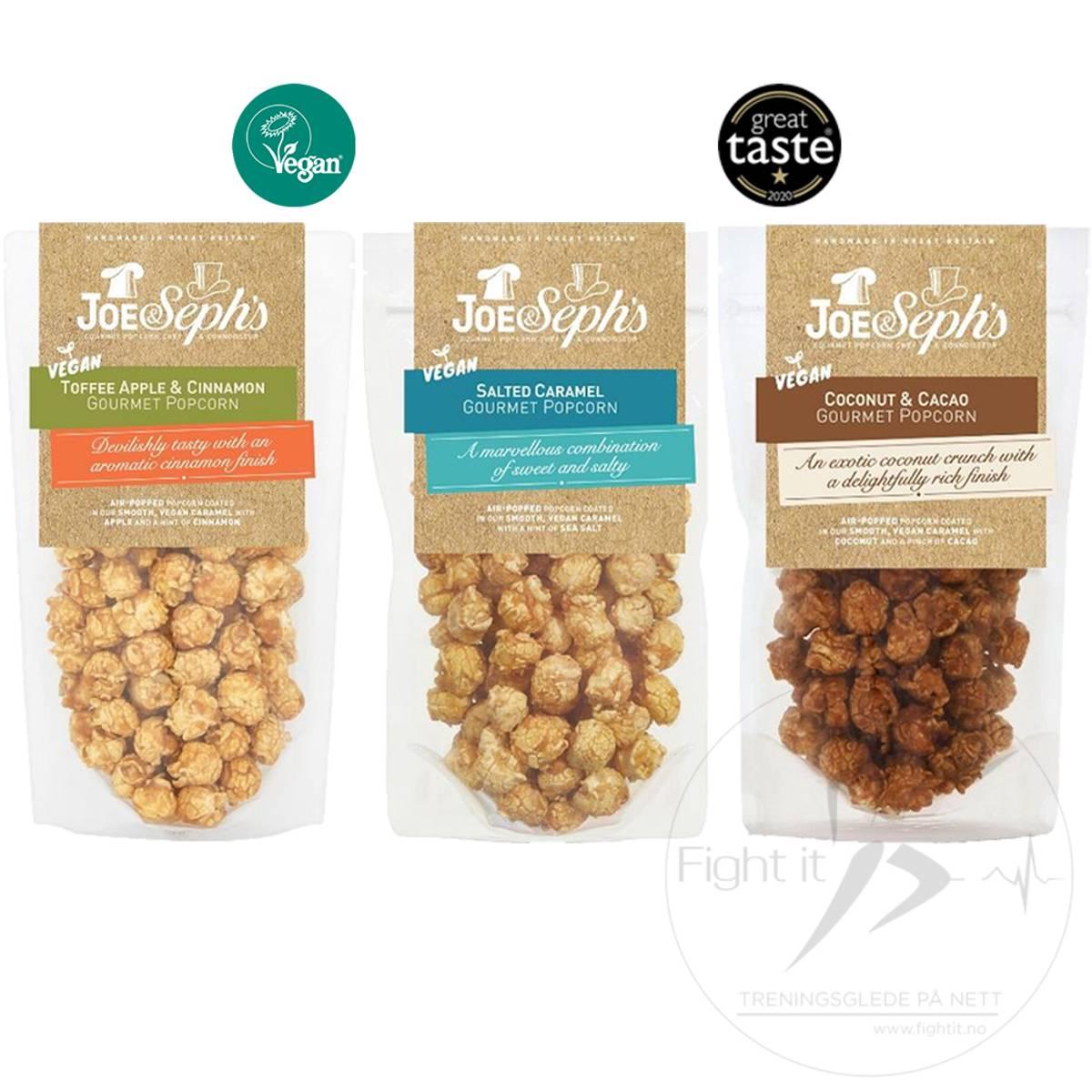 Joe & Seph`s Vegan Popcorn - Toffee Apple & Cinnamon 80g