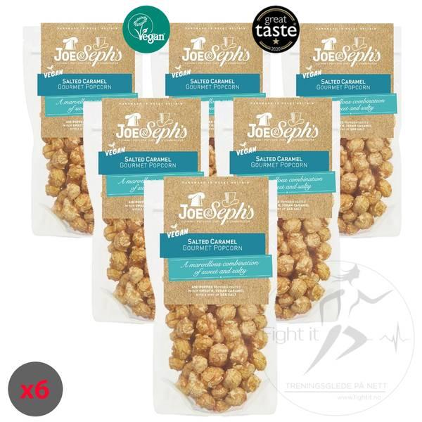 Bilde av Joe & Seph`s Vegan Popcorn - Salted Caramel 80g (Datovare)