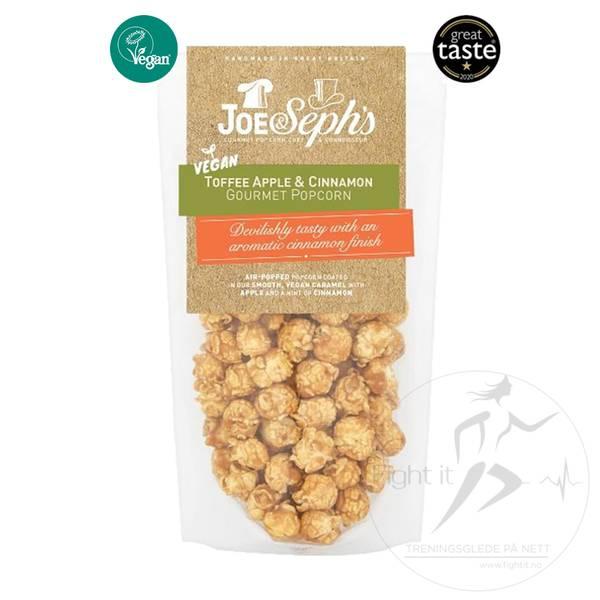 Bilde av Joe & Seph`s Vegan Popcorn - Toffee Apple & Cinnamon 80g