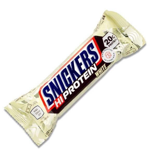 Bilde av Snickers HI-Proteinbar - White 57g