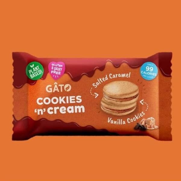 Bilde av Gato - Salted Caramel Cookies `n`Cream 42g