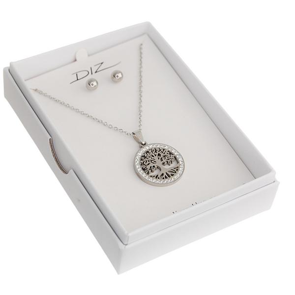 Bilde av Box 14 livets tre smykkesett i gaveeske