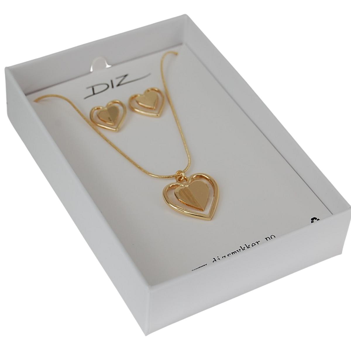 Box 1741-G smykkesett i gaveeske