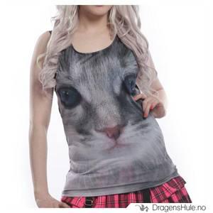 Bilde av Topp Singlet: Cute Kitten  -str M