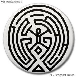 Bilde av  Button: The Maze (velg farge)
