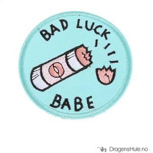 Bilde av Stoffmerke: Bad Luck Babe