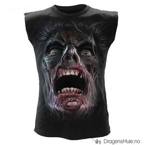 Bilde av T-skjorte Ermeløs: Night Walkers -str M