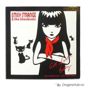 Bilde av Klistremerke: Emily Strange & the Blackcats