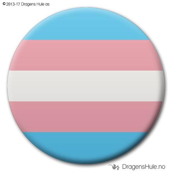 Button: Flagg Pride Trans