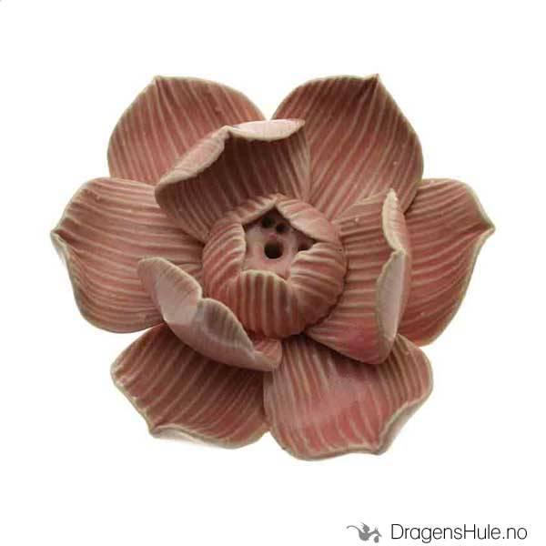 Røkelsesfat: Lotus rosa 7cm
