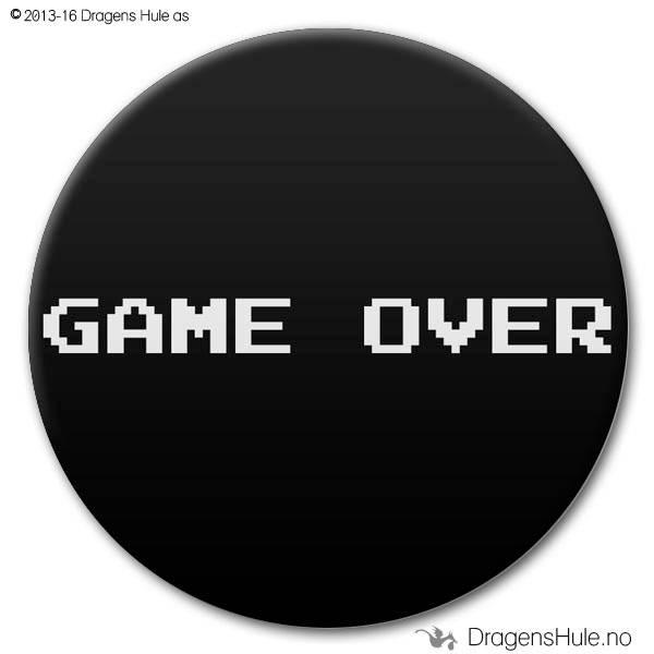 Button: Game Over (velg farge)