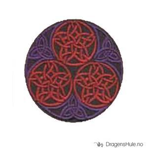 Bilde av Stoffmerke: Pentagrammer og Triquetaer
