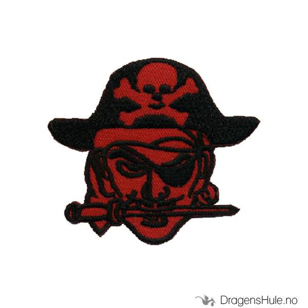 Stoffmerke: Rød Pirat