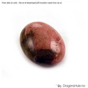 Bilde av Mineral: Tromlet Rhodonitt /´Rhodonite´