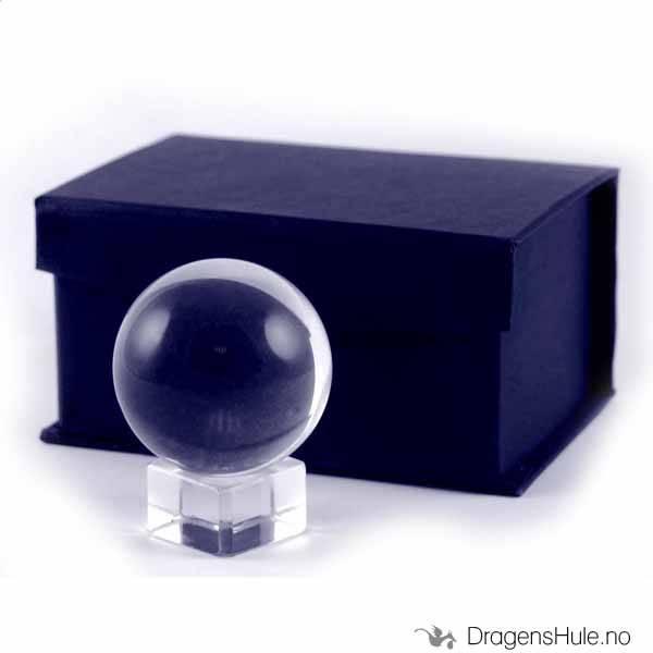 Krystallkule: Klar 50mm