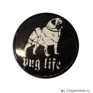 Bilde av Button 37mm: Pug Life
