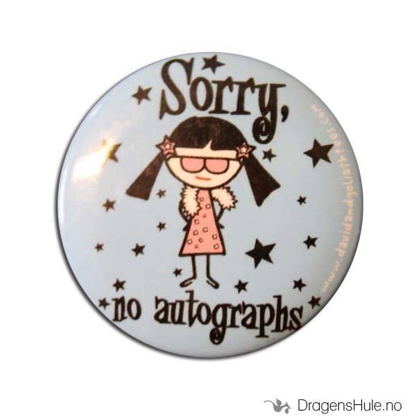 Button 37mm: Sorry, No Autographs