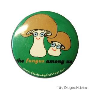Bilde av Button 37mm: The Fungus among us