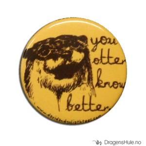 Bilde av Button 37mm: You otter know better