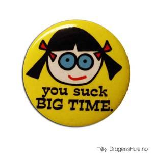 Bilde av Button 37mm: You suck big time