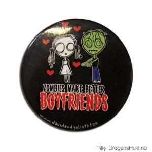 Bilde av Button 37mm: Zombies make better boyfriends