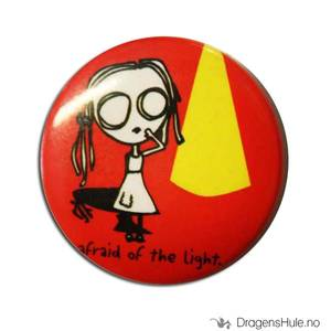 Bilde av Button 37mm: Eve L: Afraid of the light