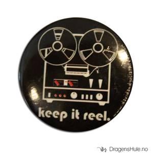 Bilde av Button 37mm: Keep it reel
