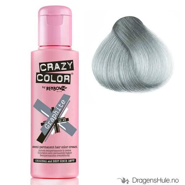 Hårtoner: Graphite -Crazy Color