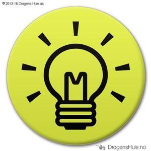 Bilde av  Button: God idé! (velg farge)