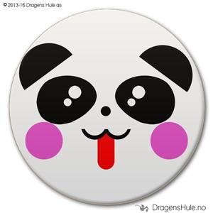 Bilde av  Button: Pandafjes #1