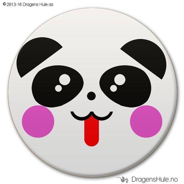 Button: Pandafjes #1
