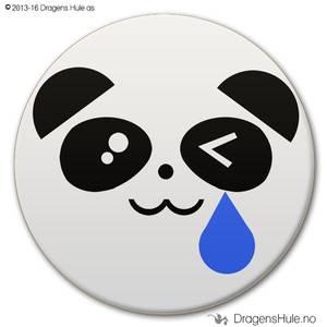 Bilde av  Button: Pandafjes #3