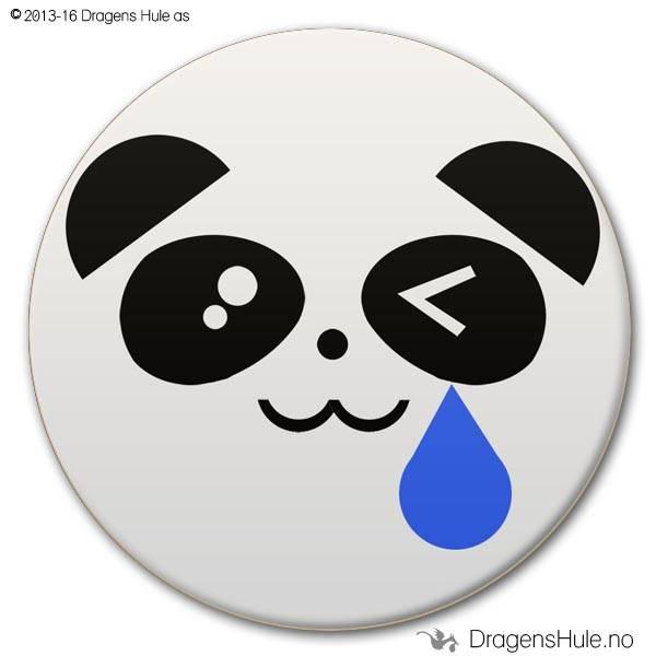 Button: Pandafjes #3