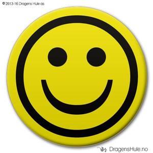 Bilde av  Button: Smiley (velg farge)