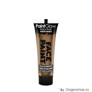 Bilde av Sminke: Light Brown Face Paint -13ml PaintGlow