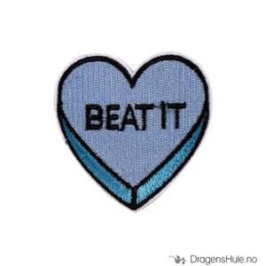 Bilde av Stoffmerke: Hjerte ´Beat It´
