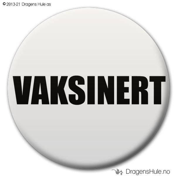 Button: Vaksinert (velg farge)