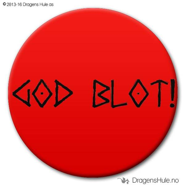 Button: God Blot!  (velg farge)