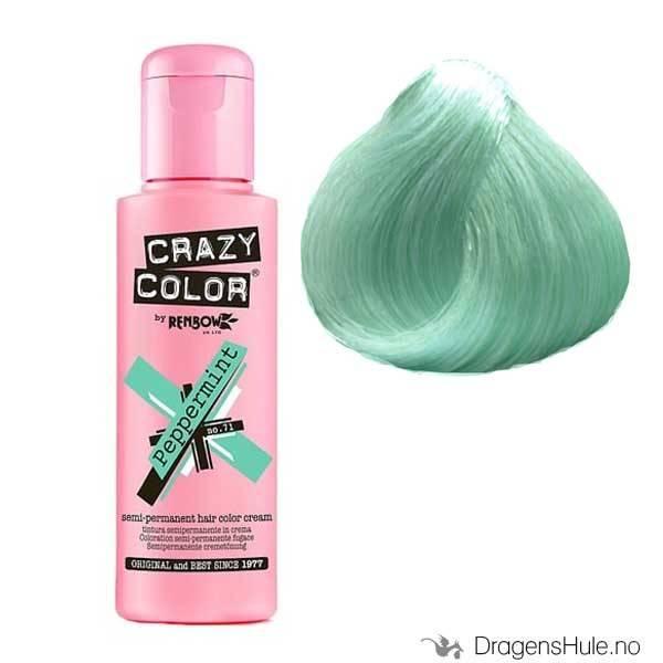 Hårfarge: Peppermint -Crazy Color