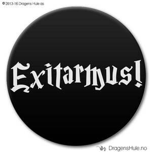 Bilde av  Button: Exitarmus! (velg farge)