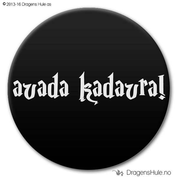 Button: Avada Kadavra (velg farge)
