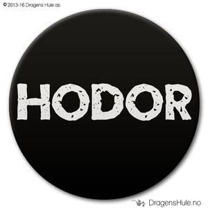 Bilde av  Button: HODOR (velg farge)