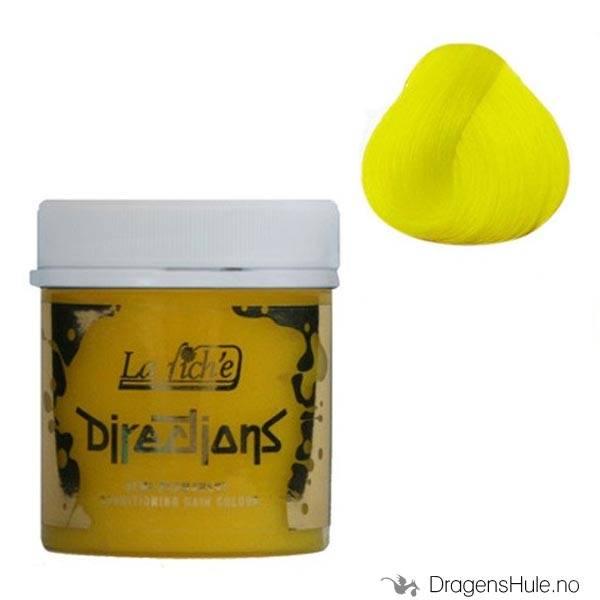 Hårfarge: Bright Daffodil -Directions