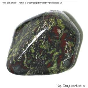 Bilde av Mineral: Tromlet Drageblodsjaspis/´Dragon`s Blood Jasper´