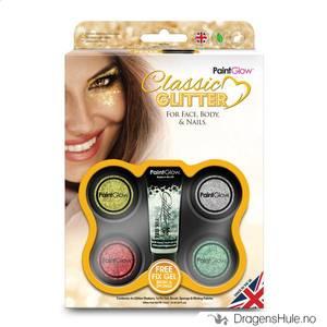 Bilde av  Glittersett: Classic Glitter Kit -PaintGlow